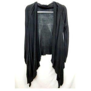 BCBG MAX AZRIA Knit Drape Front Cardigan Sweater
